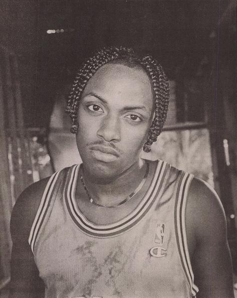Mystikal portrait--New Orleans rapper