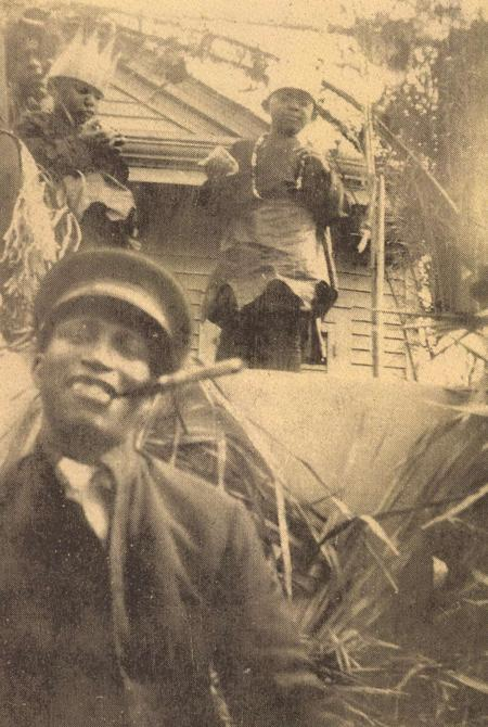 Black Benny at Zulu Parade, Mardi Gras, 1923