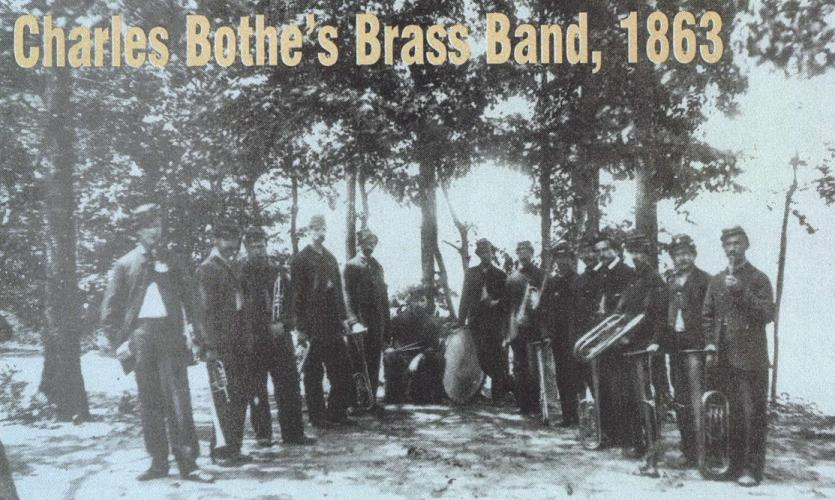 Charles Bothe's Brass Band, 1863