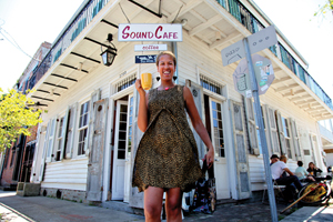 Margie Perez at Sound Cafe New Orleans