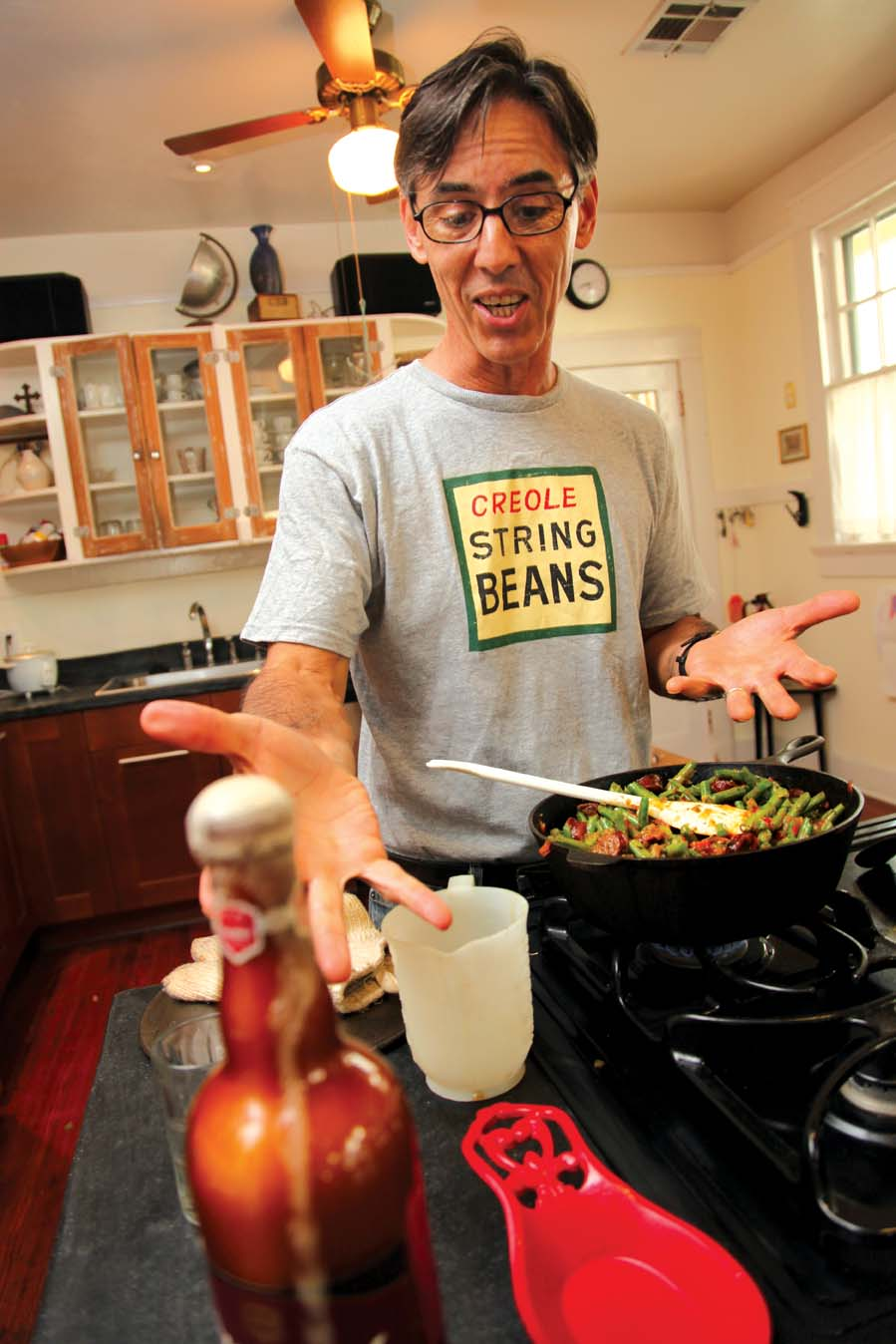 The Gravy: In the Kitchen with Rick Olivier. Photo by Elsa Hahne.