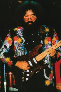 Jerry Garcia performs at the Warehouse Music Club New Orleans by Sidney Smith