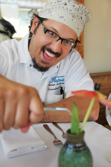 Chef Aaron Burgau of Patois. Photo by Elsa Hahne.
