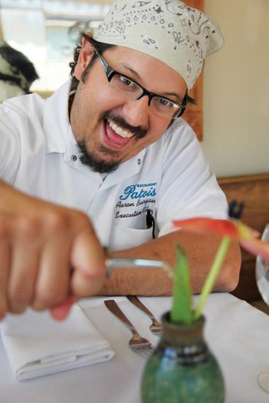 Chef Aaron Burgau of Patois. Photo by Elsa Hahne.