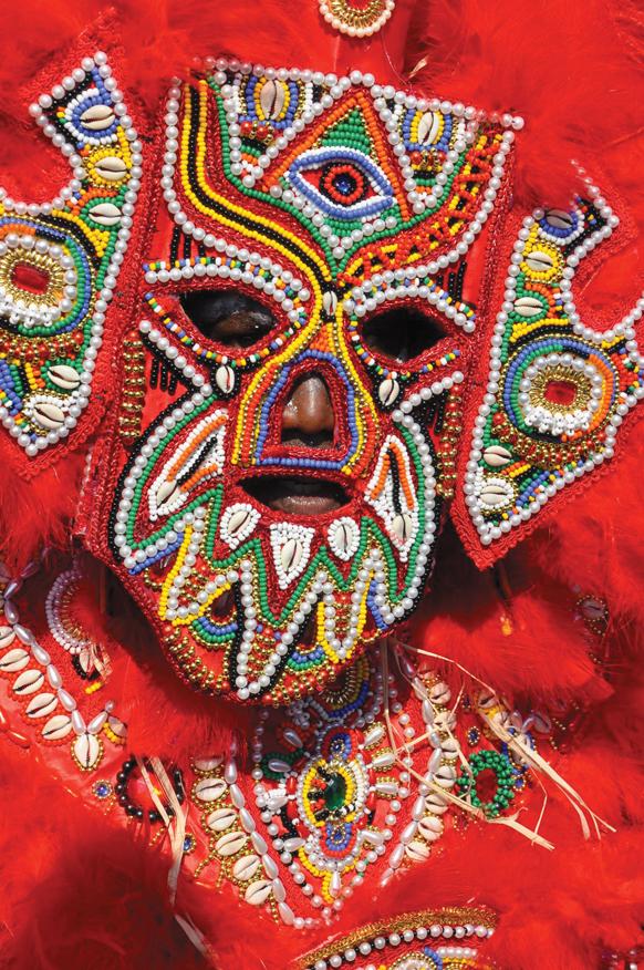 Mardi Gras Indian by Photographer Kim Welsh