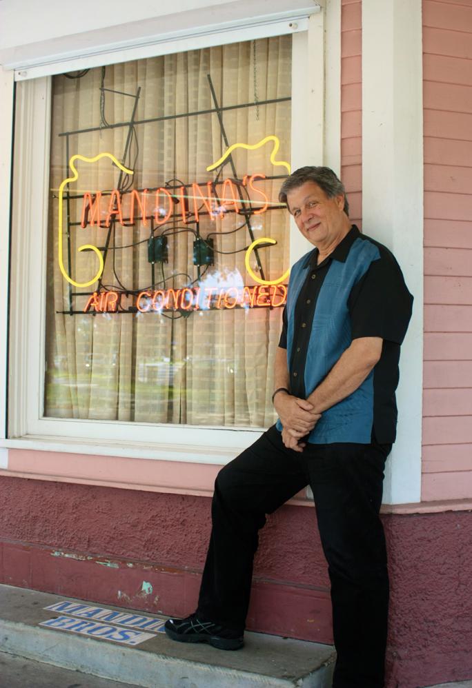 John Rankin Hits the Spot at Mandina's Restaurant