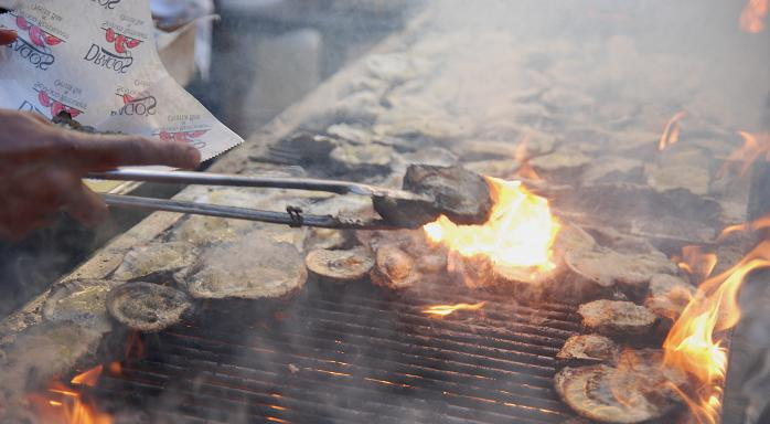 Oysters Charbroiled from Drago's in New Orleans - New Orleans Seafood Festival