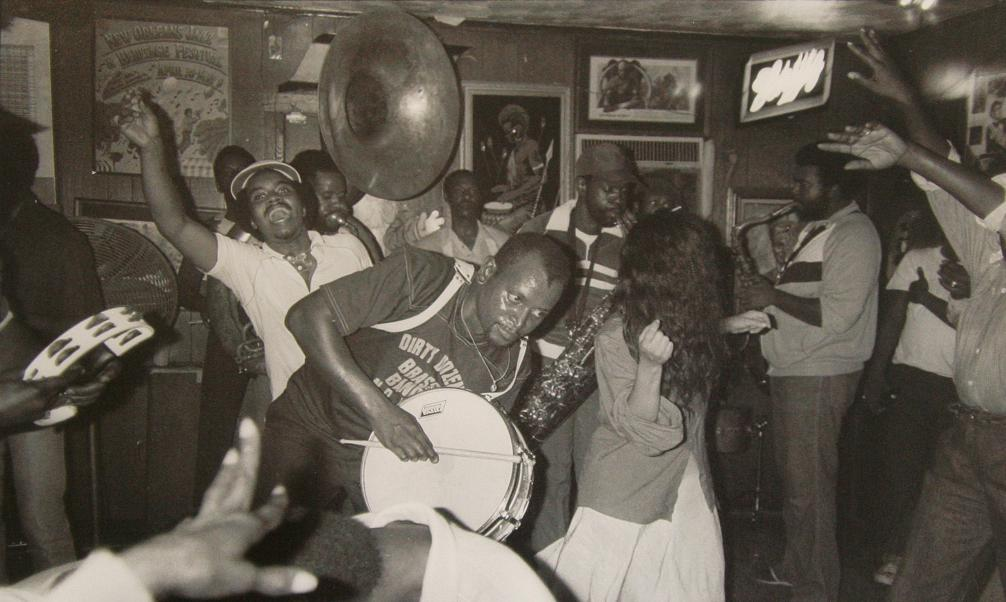 Dirty Dozen Brass Band at The Glass House, 1982
