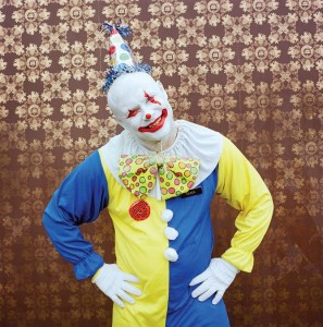 Zack Smith Voodoo Fest Clown Photograph