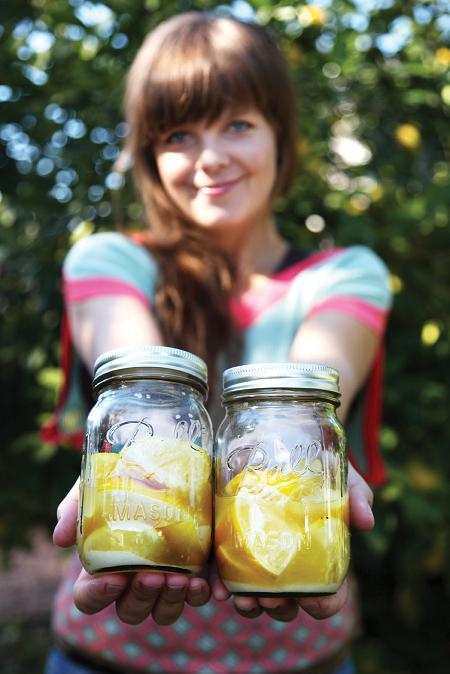 The Gravy with Theresa Andersson--Preserved Meyer Lemons