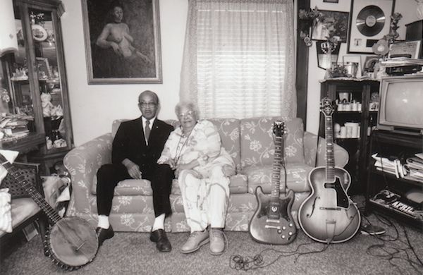 Blue Lu Barker and Danny Barker at home. Photo by Syndey Byrd.