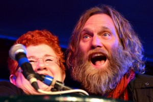 Jan Ramsey and Anders Osborne at the 2010 Best of the Beat Awards