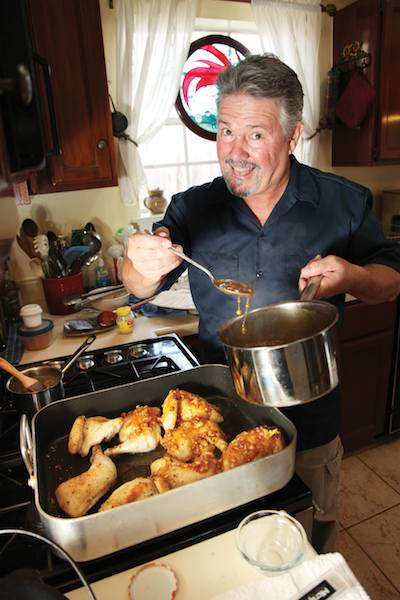 Brint Anderson: Mother Kitty's Curry Glazed Chicken