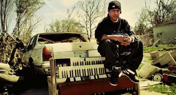 DJ Chicken. Performing at Art, Beats and Lyrics.