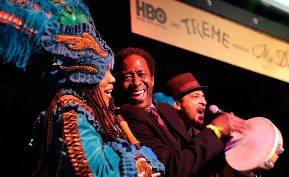 HBO Treme My Darlin New Orleans Benefit: Clarke Peters. Photo by Golden G. Richard III.