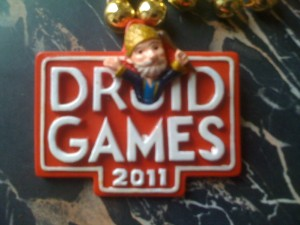 Druid Games Mardi Gras Bead