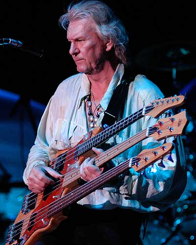 Chris Squire, bass player for Yes.