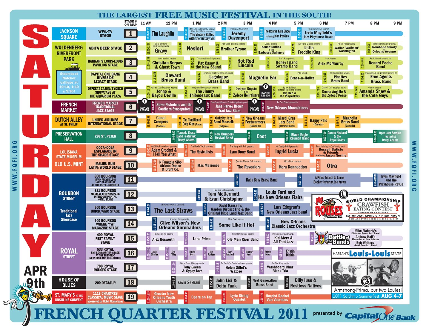 map of marksville la with French Quarter Festival 2011 Schedule Saturday April 9 on French Quarter Festival 2011 Schedule Saturday April 9 together with Baytown culture together with Default moreover West Haven Ct purzuit together with Rv Park.
