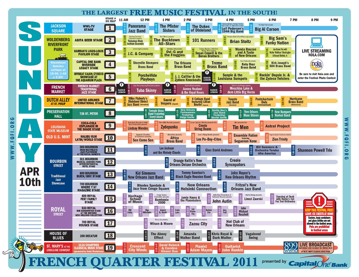 street map of gretna la with French Quarter Festival 2011 Schedule Sunday April 10 on Amdocs besides 59d703a8b0ccbb78a3ac8f6fd4b3d0a7 moreover Nashville likewise Mobile Alabama Map furthermore 1318 Jefferson Street  2816285.