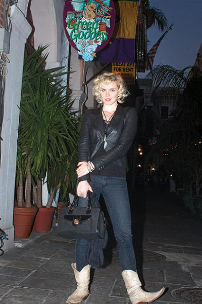 Kristin Diable Hits the Spot at Green Goddess Restaurant in New Orleans. Photo by Caitlyn Ridenour.