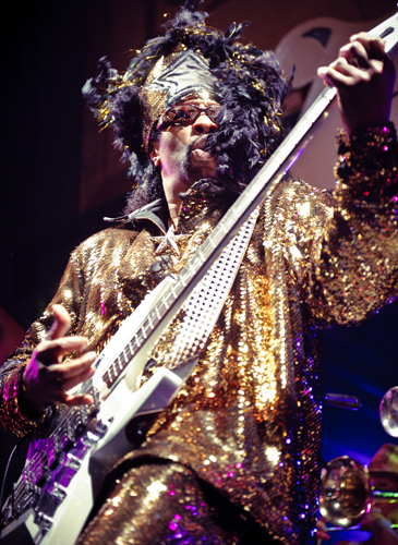 Bootsy Collins at Tipitina's. By Golden Richard III.