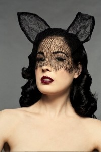 A Glimpse at the Glamorous Dita Von Teese