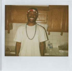 Frank Ocean in kitchen. From frankocean.tumblr.com.