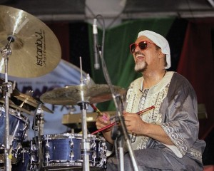 Idris Muhammad. Photo by Clayton Call.