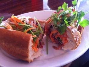 Banh Mi from Pho Nola. Photo by Jenny Sklar.