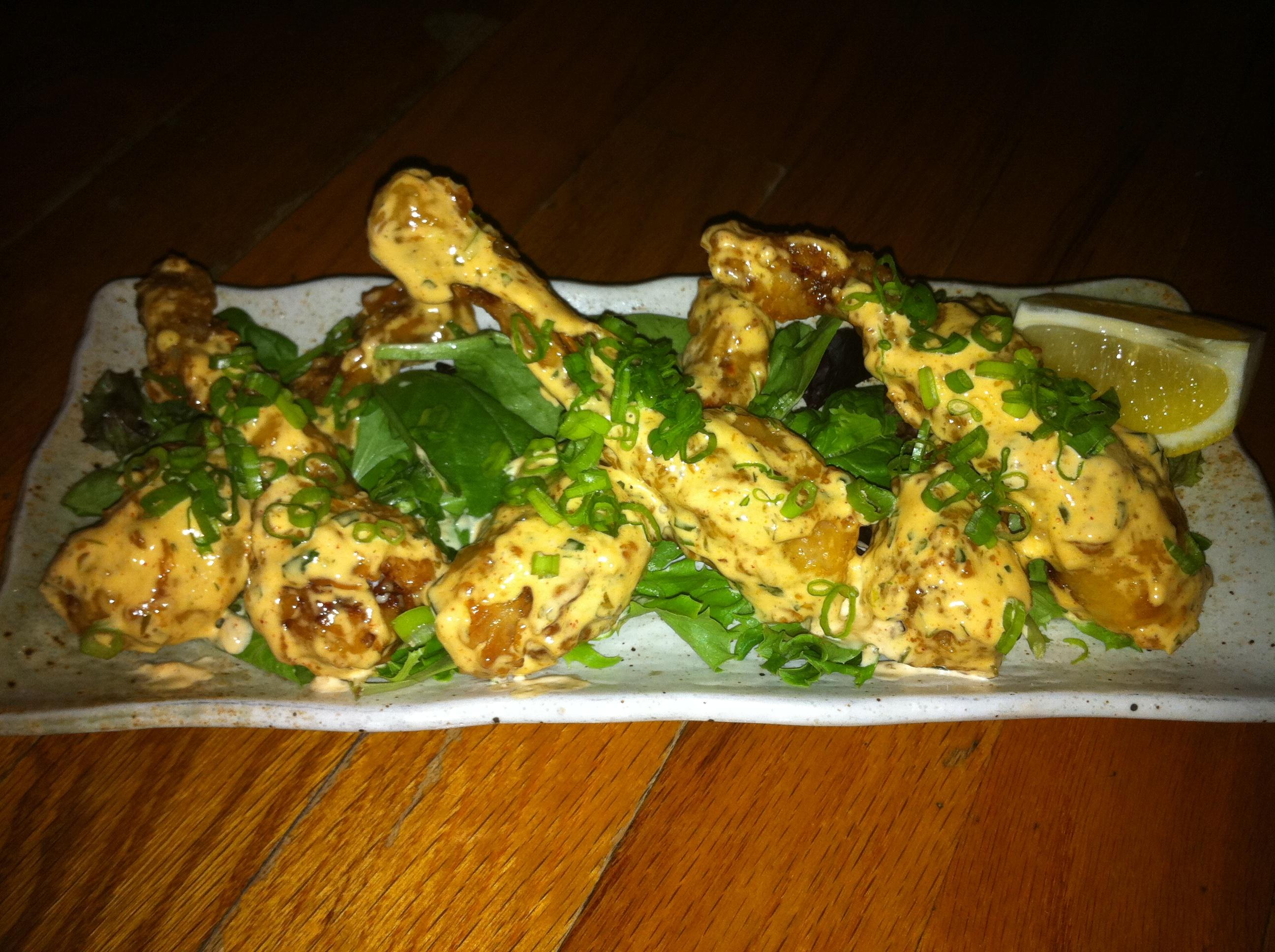Delachaise Restaurant Frog Legs Photo By Jenny Sklar