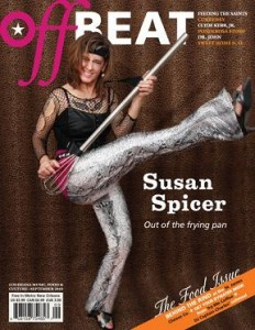 OffBeat Magazine September 2010 Issue. Photo of Susan Spicer by Elsa Hahne.