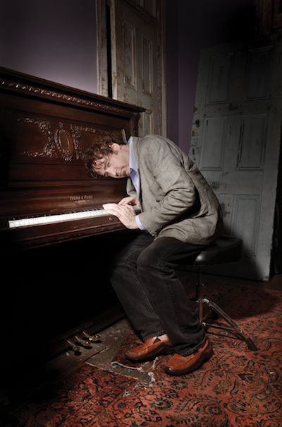 Davis Rogan at piano. Photo by Aubrey Edwards.