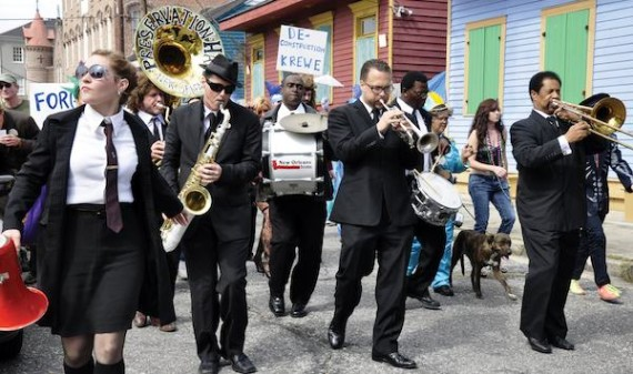 Flood Streets second line. Photo by Kim Welsh.
