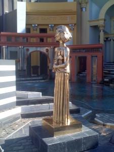 Sophia Loren statue in Piazza d'Italia New Orleans