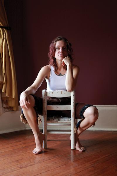 Ani DiFranco. Backtalk interview. Photo by Patti Perret.