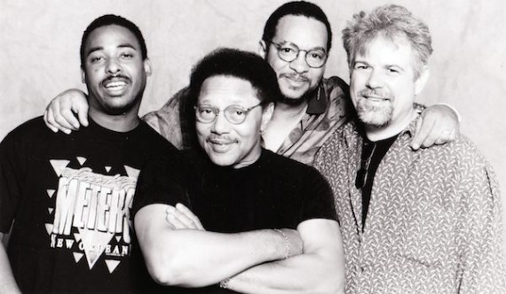 George Porter, Jr. with the funky Meters in 1998.