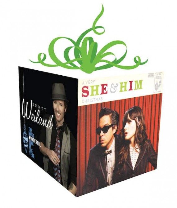 Scott Weiland, The Most Wonderful Time of the Year. She & Him, A Very She & Him Christmas.