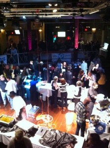 Food vendors at the Best of the Beat Awards
