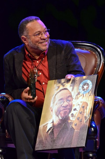 George Porter, Jr. at OffBeat Magazine's Best of the Beat Business Awards. Photo by Kim Welsh.