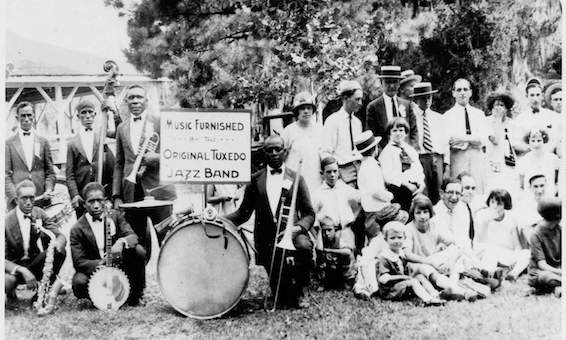 The Original Tuxedo Jazz Band circa 1925-1932. Photo courtesy of the Historic New Orleans Collection, MSS 520, F 1672.