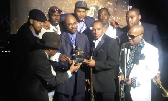 Rebirth Brass Band at the Grammy Awards