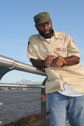 Truth Universal, founder of Grassroots! the New Orleans hip-hop series.