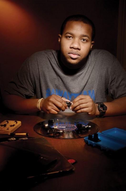 DJ RQAway. Photo by Aubrey Edwards.
