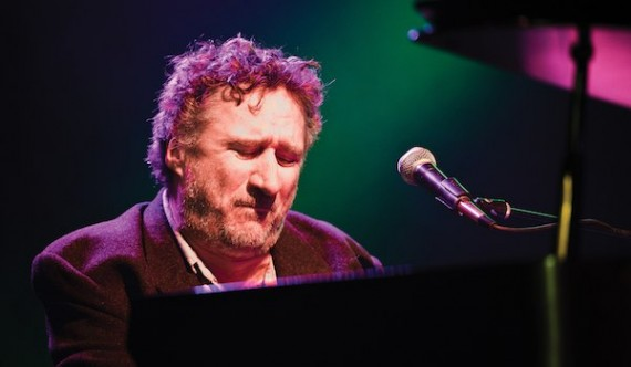 Jon Cleary at the piano. Photo by Golden Richard III.