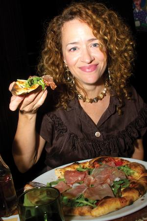 Lynn Drury Hits the Spot at Domenica. Photo by Caitlyn Ridenour.