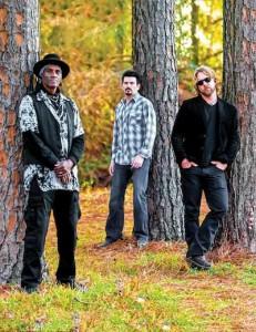 Royal Southern Brotherhood's Cyril Neville, Mike Zito and Devon Allman. Photo by Jerry Moran.