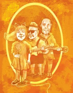 The Hobart Brothers and Lil' Sis. Illustration by Mike Freiheit.