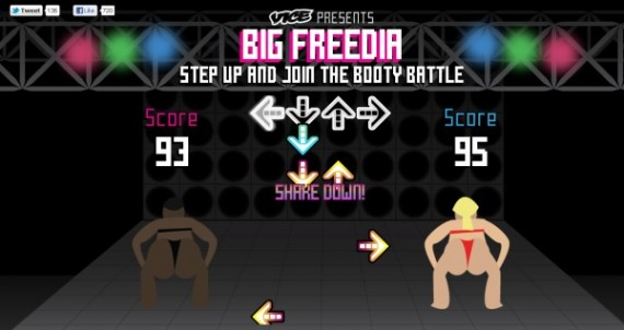 Big Freedia Booty Battle Video Game