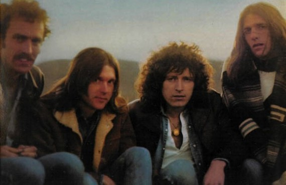 The Eagles in 1972