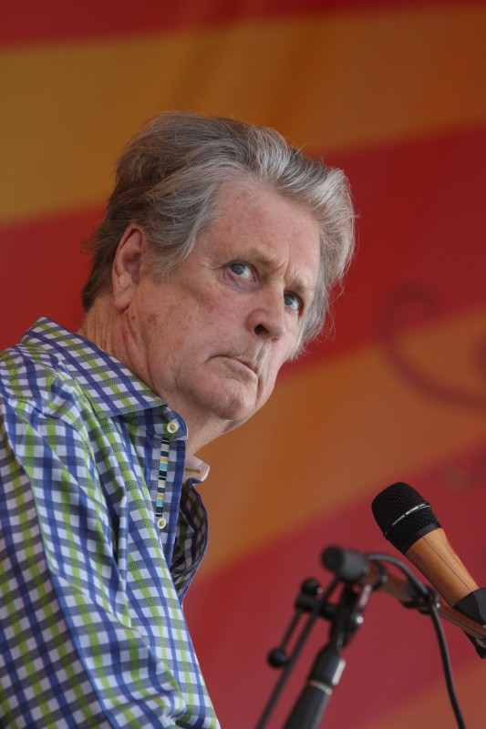 Brian Wilson at the New Orleans Jazz and Heritage Festival Friday, April 27. Photo by Earl Perry.